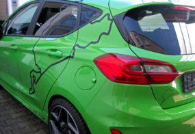 Fahrzeugaufkleber / Ford Fiesta ST / Breuer
