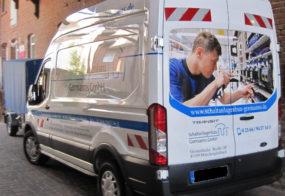 Transporterbeschriftung mit Digitaldruck