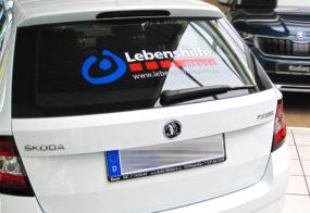 Fahrzeugbeklebung / Lebenshilfe Neuss
