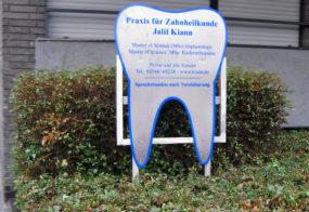 Praxisschild / Jalil Kiann