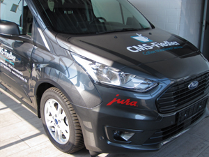 Ford Tourneo Fahrzeugbeschriftung Ford Tourneo in Grevenbroich Wevelinghoven