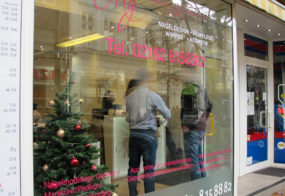 My Nails and Beauty / Fenster-Beschriftung
